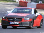 2012 Mercedes-Benz SLK spy shots