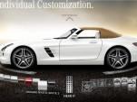 2012 Mercedes-Benz SLS AMG Roadster configurator