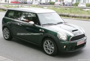 2012 MINI Cooper S Diesel spy shots