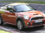 2012 MINI Coupe John Cooper Works spy shots