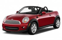 2012 MINI Cooper Roadster 2-door Angular Front Exterior View