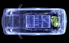 2012 Mitsubishi i Electric Car: X-Ray Cutaway Shows Layout