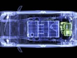 2012 Mitsubishi i electric car x-ray image