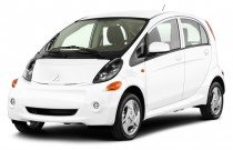 2012 Mitsubishi i-MiEV 4-door HB SE Angular Front Exterior View