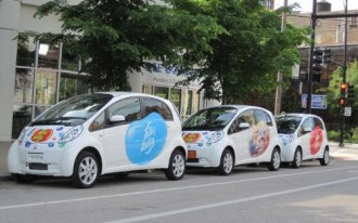 Jelly Belly And Mitsubishi's Electric Car: Sweet Treat