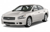 2012 Nissan Maxima 4-door Sedan V6 CVT 3.5 S Angular Front Exterior View