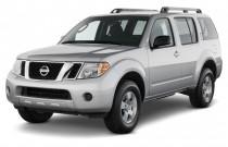 2012 Nissan Pathfinder 4WD 4-door V6 SV Angular Front Exterior View