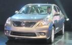 2012 Nissan Versa Sedan: 2011 New York Auto Show Live Photos