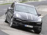 2012 Porsche Cayenne Turbo S spy shots