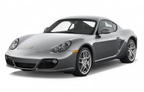 2012 Porsche Cayman 2-door Coupe S Angular Front Exterior View
