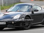 2012 porsche cayman test mule spy shots june 02