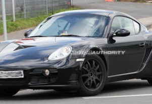 Spy shots: Next-generation Porsche Cayman test-mule