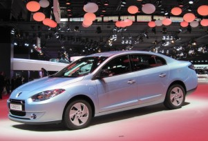 Renault Fluence ZE Electric Car, Built For Better Place, Discontinued