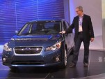 2012 Subaru Impreza at New York Auto Show, April 2011