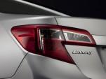 2012 Toyota Camry Teaser