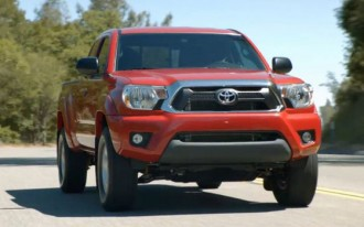 2012 Toyota Tacoma Video Hits The Web