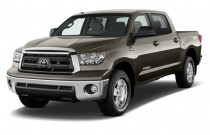 2012 Toyota Tundra Angular Front Exterior View