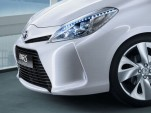 2012 Toyota Yaris Hybrid teaser photo