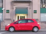 2012 Toyota Yaris LE three-door hatchback, road test, Hudson Valley, NY, Feb 2012