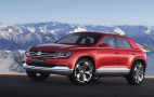 Volkswagen Cross Coupe TDI Plug-In Hybrid Concept Makes Debut