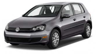2012 Volkswagen Golf 4-door HB Auto Angular Front Exterior View