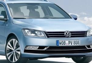 2012 Volkswagen Passat Wagon rendering
