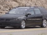 2012 Volkswagen Passat Wagon spy shots