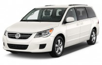 2012 Volkswagen Routan 4-door Wagon SE Angular Front Exterior View
