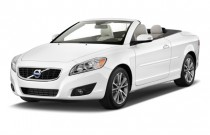 2012 Volvo C70 2-door Convertible T5 Angular Front Exterior View