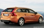 Rendered: 2012 Volvo V60 Wagon