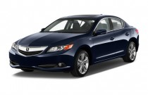 2013 Acura ILX 4-door Sedan 1.5L Hybrid Angular Front Exterior View