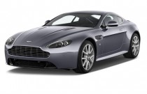 2013 Aston Martin V8 Vantage 2-door Coupe S Angular Front Exterior View