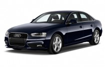 2013 Audi A4 4-door Sedan Man quattro 2.0T Premium Angular Front Exterior View