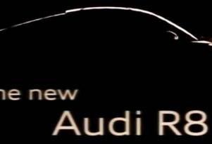 2013 Audi R8 teaser