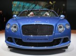 2013 Bentley Continental GT Speed Convertible live photos, 2013 Detroit Auto Show