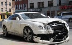 ANOTHER Wrecked Bentley! Just One Of NYC's Many Car Crashes