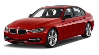 2013 BMW 3-Series 4-door Sedan 335i RWD Angular Front Exterior View