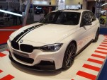 2013 BMW 3-Series fitted with M Performance accessories