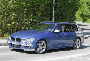 2013 BMW 3-Series Touring (Sport Wagon) with M Sport package spy shots