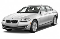 2013 BMW 5-Series 4-door Sedan 535i RWD Angular Front Exterior View