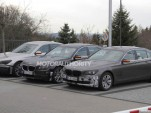 2013 BMW 7-Series facelift spy shots