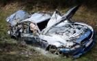 2013 BMW M5 Destroyed After Autobahn Crash