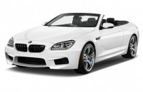 2013 BMW M6 2-door Convertible Angular Front Exterior View