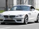 2013 BMW Z4 facelift spy shots