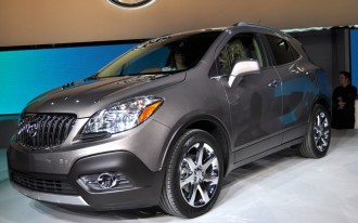 2013 Buick Encore: 2012 Detroit Auto Show Video