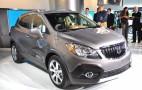 2013 Buick Encore Live Photos: 2012 Detroit Auto Show