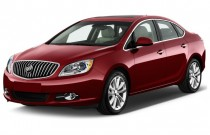 2013 Buick Verano 4-door Sedan Convenience Group Angular Front Exterior View