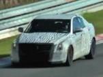 2013 Cadillac ATS spied testing at the Nurburgring.