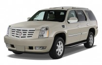 2013 Cadillac Escalade AWD 4-door Base Angular Front Exterior View