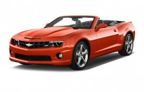2013 Chevrolet Camaro 2-door Convertible SS w/2SS Angular Front Exterior View
